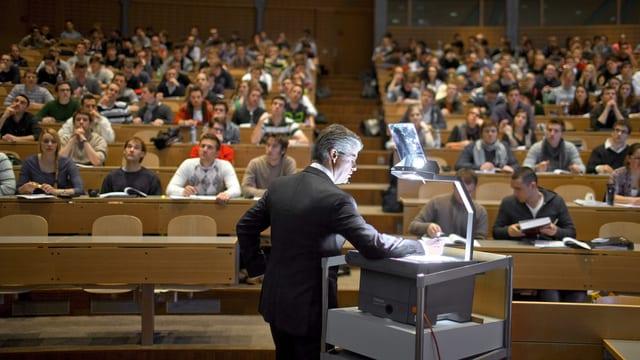 Vorlesung an der Uni St. Gallen