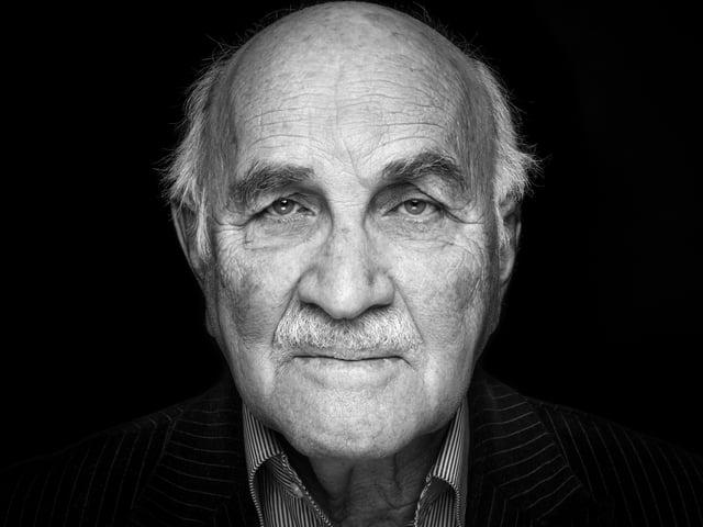 Holocaustüberlebender Egon Holländer.