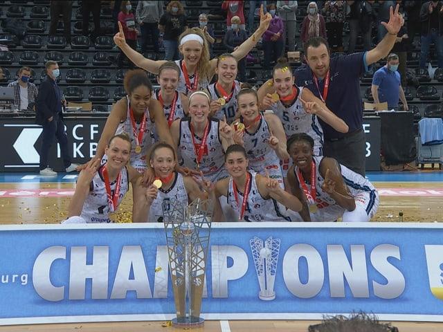 Die Basketballerinnen von Elfic.
