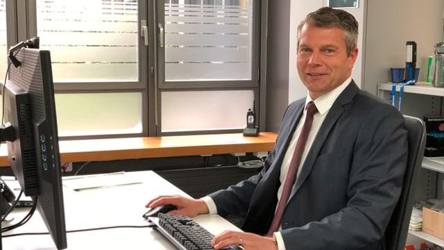 Foto von Martin Reut, Leiter IT-Forensik und Cybercrime bei der Kantonspolizei St. Gallen.