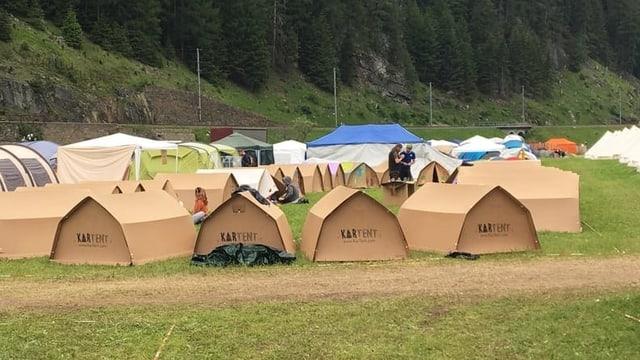 L'innovaziun da las tendas da chartun