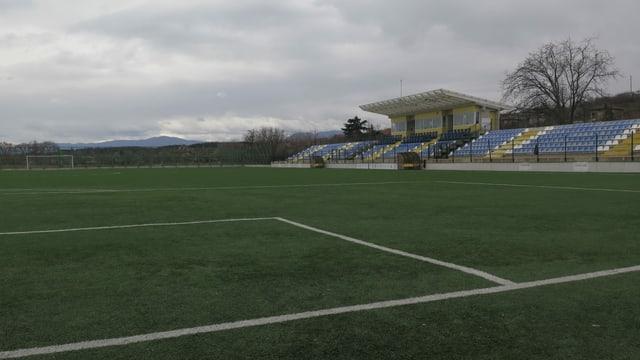 Fussballstadion in Kalugerovo.