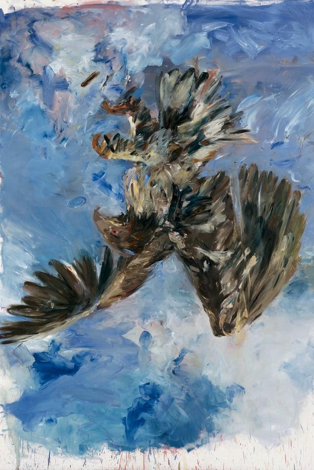 Bild eines umgekehrten Vogels