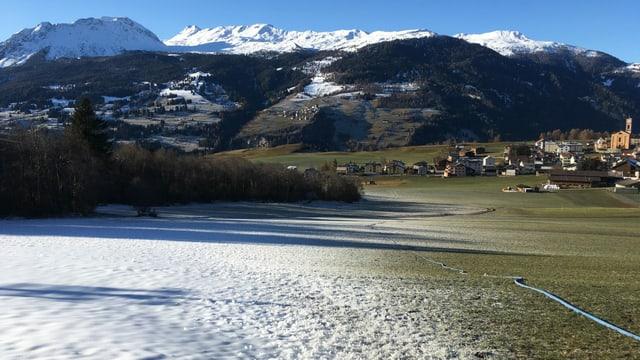 I manca anc blera naiv per ir cun skis a Lantsch.