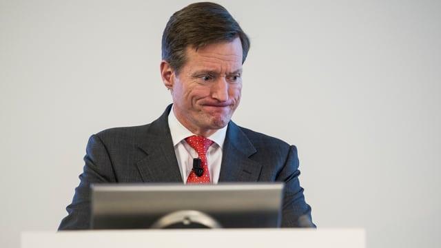 Brady Dougan, Chef der Credit Suisse