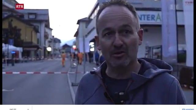 Claudio Duschletta davart organisaziun Bikemaraton