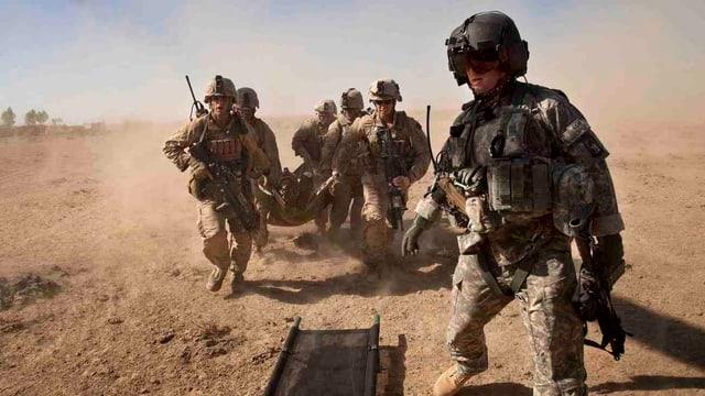 Einsatz von US-Soldaten in Afghanistan.