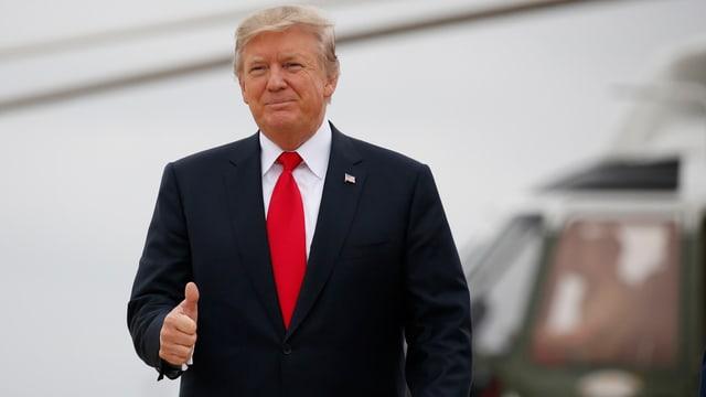 Video «Trump – ein Jahr nach der Wahl» abspielen
