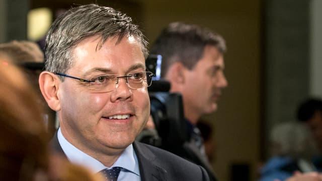 Der neu gewählte SVP-Nationalrat Franz Grüter.