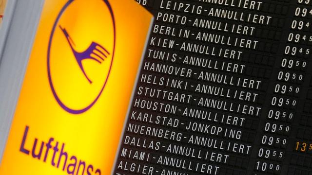 Il logo da la Lufthansa.