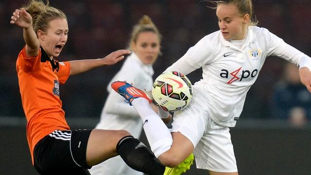 Die FCZ-Frauen mussten sich in Schottland knapp geschlagen geben.