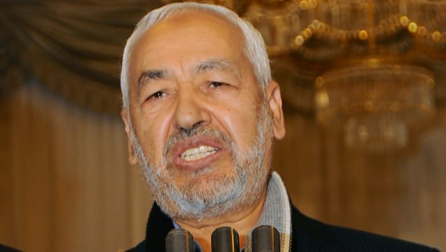 Porträt Ghannouchi