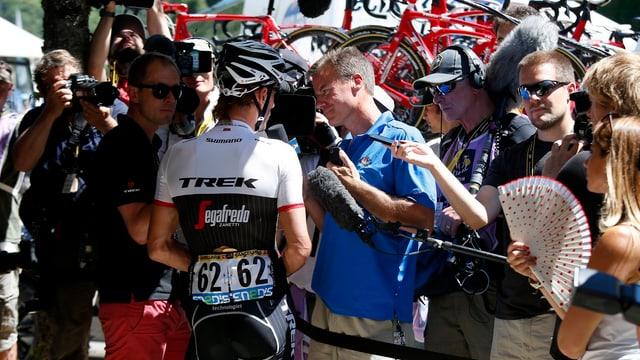 Fabian Cancellara in Bern.