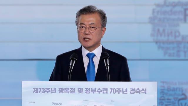 Südkoreas Präsident hat heute die Pläne zum baldigen Projektstart bekanntgegeben.