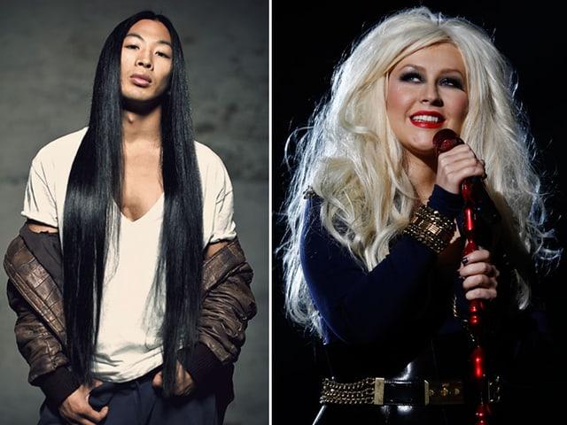 Viet Dang und Christina Aguilera