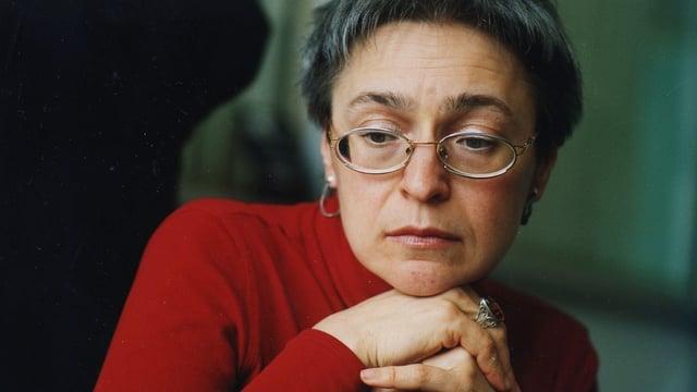 Die kremlkritische Journalistin Anna Politkowskaja