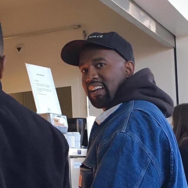 Kanye West in der Mensa der FHNW