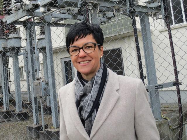 Karin Gaiser, Präsidentin des Verwaltungsrates der Gemeindwerke Erstfeld.