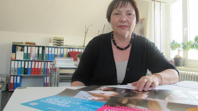 Silvia Hofmann, Leiterin der Stabstelle für Chancengleichheit von Frau und Mann des Kantons Graubünden.