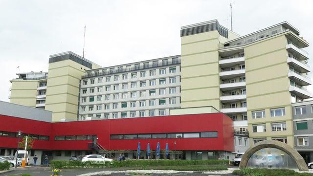 Das Spital von aussen