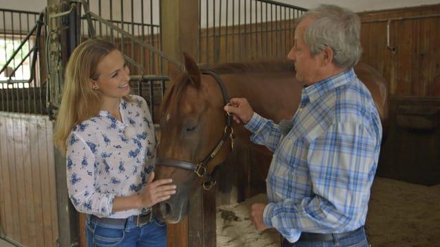 Video «Neue Therapieformen für Pferde» abspielen