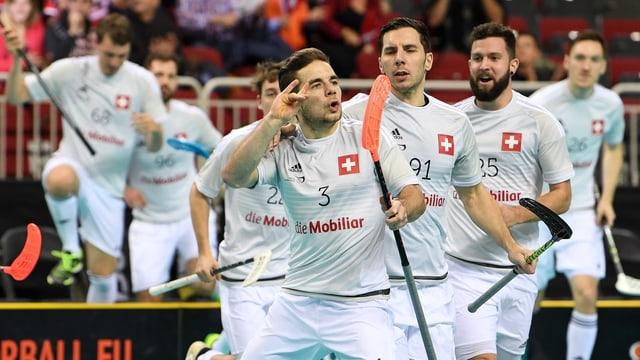 Die Schweiz sichert sich in Lettland die Bronzemedaille.