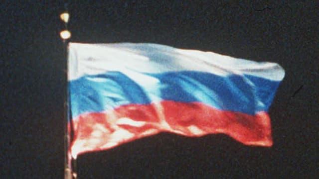 La bandiera da la Russia sgulatscha - i è notg