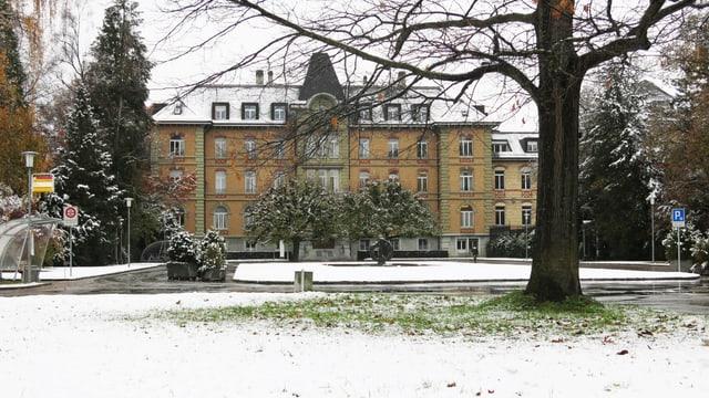 Die Psychiatrische Klinik in Münsingen.