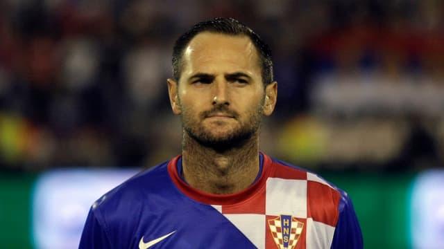 Josip Simunic leistete sich einen Aussetzer.