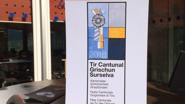 Il logo dal tir chantunal Surselva 2018.