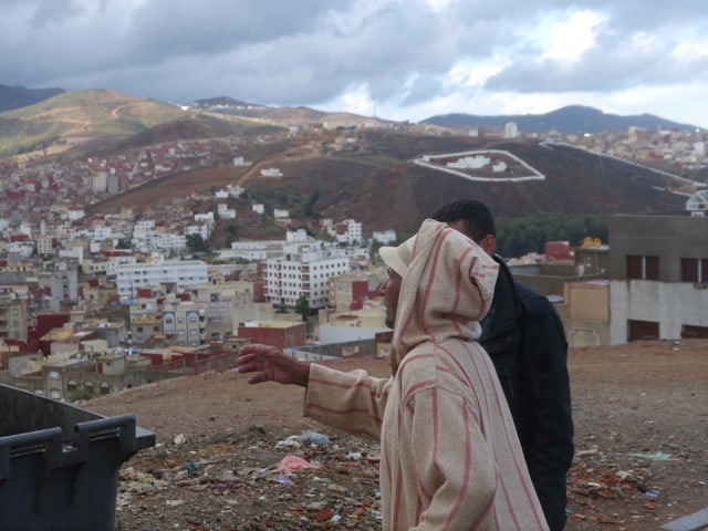 Blick über Fnidek: Die Stadt liegt im Norden Marokkos.