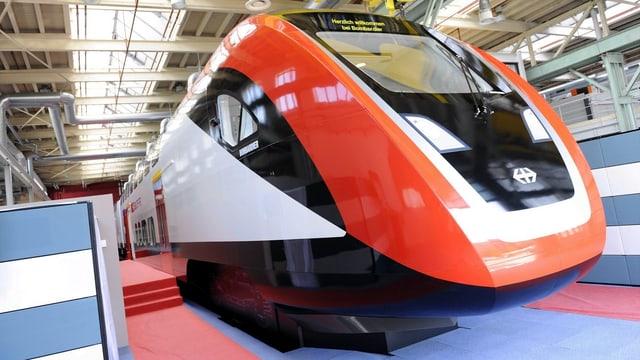Der neue SBB-Zug von Bombardier.