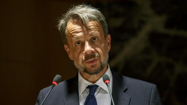 Ein Portrait von SRG-Generaldirektor Gilles Marchand