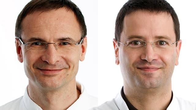 Prof. Andreas Raabe und PD Dr. Jürgen Beck