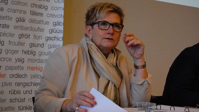 Finanzdirektorin Beatrice Simon.