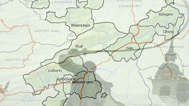 Wenn sich sktrukturschwache Solothurner Gemeinden nicht selber ein korrektes Budget geben können, greift der Kanton ein.