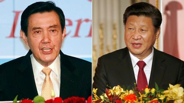 Ils dus presidents dal Taiwan e la China.