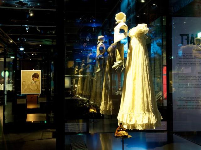 Blick in die Ausstellung: