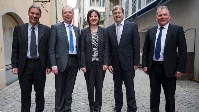 Die neue Walliser Regierung