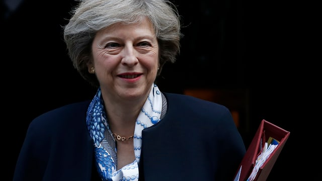 Portrait da la primministra.