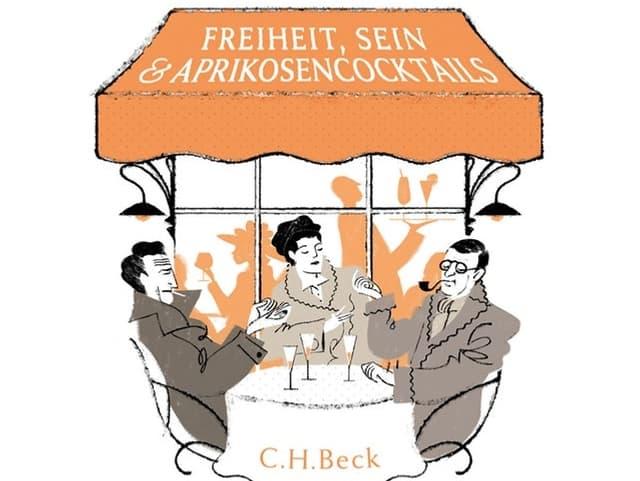 Buchcover «Das Café der Existenzialisten»