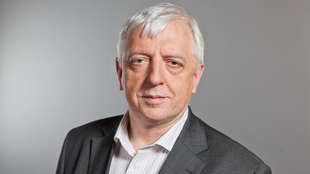 Porträt von Ueli Leuenberger.