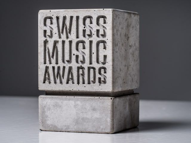 Einen solchen Award gibt es für KT Gorique, JulDem und Marius Bear zu gewinnen.