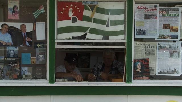 Das Domino-Spiel gilt als Nationalsport in Abchasien