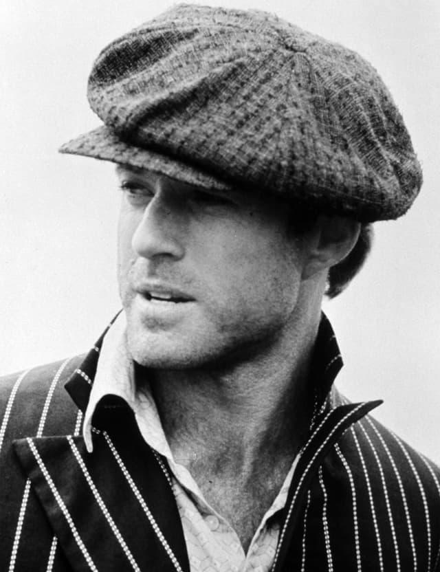 Ein junger Robert Redford im Jahre 1973.
