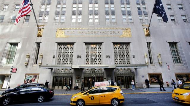 Das Waldorf Astoria in New York.