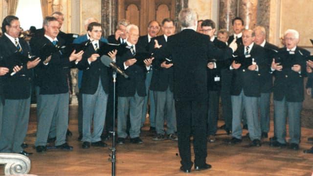 Concert en la Sala dals pass pers da la Chasa federala a Berna il 2005.