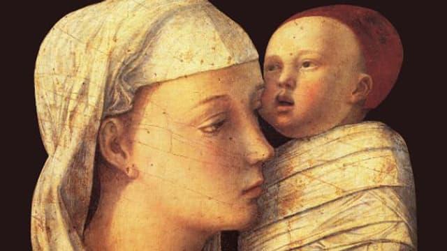 Bild von Giovanni Bellini mit Mutter und Kind