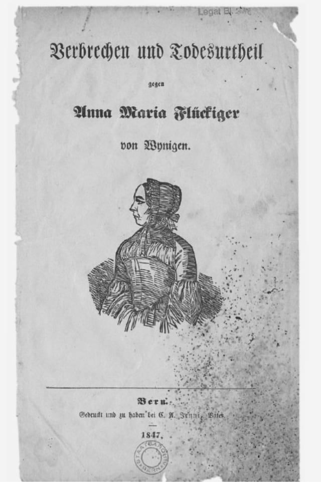 Eine Todesurteil auf Papier aus dem Jahr 1847.