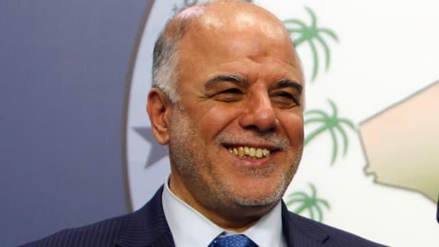 Haider al-Abadi lächelnd